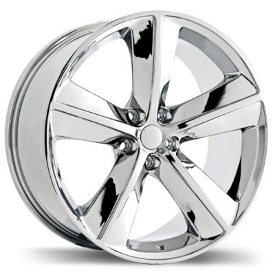 roue Replika R118A, chrome (20X9, 5x115, 71.5, déport 20)