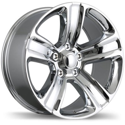 roue Replika R177A, chrome (17X8, 5x139.7, 77.8, déport 10)