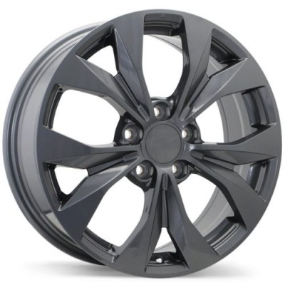 Roue Replika Wheels R192, gris gunmetal (16X6.5, 5x114.3, 64.1, déport 40)