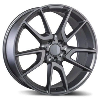 Roue Replika Wheels R207, gris gunmetal mat (21X10.0, 5x112, 66.5, déport 46)