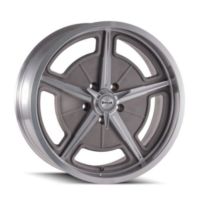 roue Ridler 605, gris machine (17X8, 5x127, 83.82, déport 0)