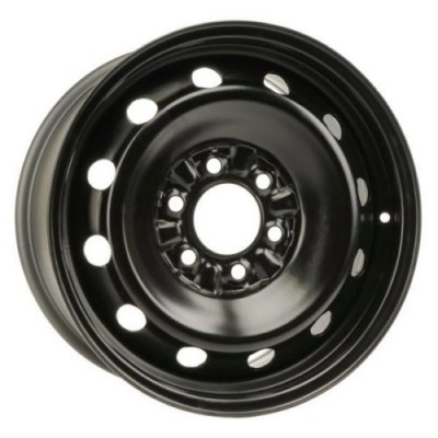 roue RNB STEEL WHEEL, noir satine (17X7.5, 6x135, 87.1, déport 35)