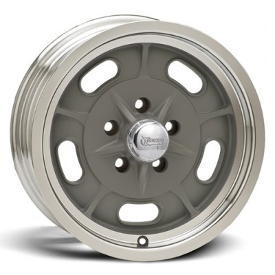 Roue Rocket Wheels Igniter, gris machine (15X6, 5x114.3, 78.1, déport 0)