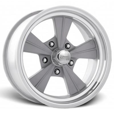 Roue Rocket Wheels Strike, argent machine (15X4.5, 5x120.7, 78.1, déport -25)