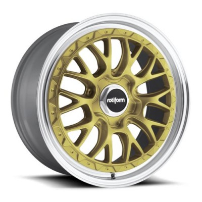 Roue Rotiform LSR R156, or (18X8.5, 5x110, 65.1, déport 35)