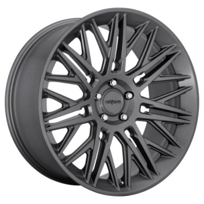 Roue Rotiform RC163, anthracite mat (22.00X10.00, 6x135.00, 87.1, déport 30)