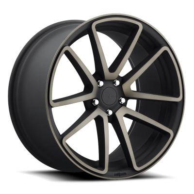 Roue Rotiform SPF R121, noir machine (18X8.5, 5x120, 72.6, déport 45)