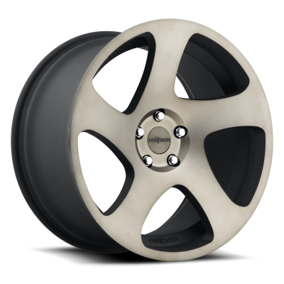 Roue Rotiform TMB R131, noir machine (18X8.5, 5x112, 66.5, déport 45)