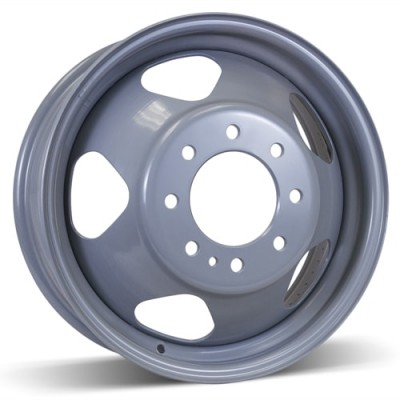 Roue RSSW Steel Wheel, gris (17X6.5, 8x165.1, 117, déport 127)