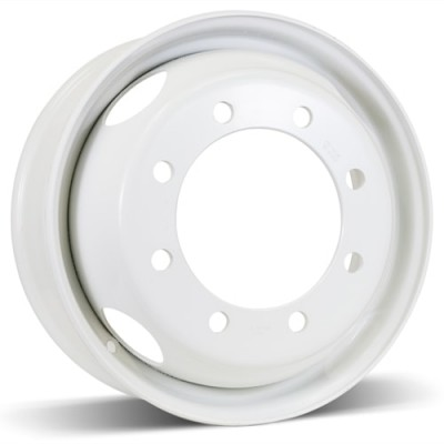 Roue RSSW Steel Wheel, blanc (19.5X6.75, 8x275, 221, déport 147)