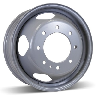 Roue RSSW Steel Wheel, gris (17X6.5, 8x210, 154, déport 137)