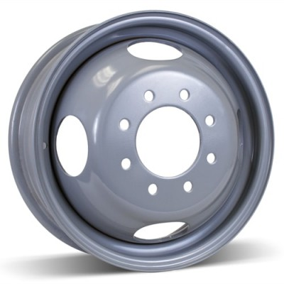 Roue RSSW Steel Wheel, gris (16X6, 8x165.1, 117, déport 125)