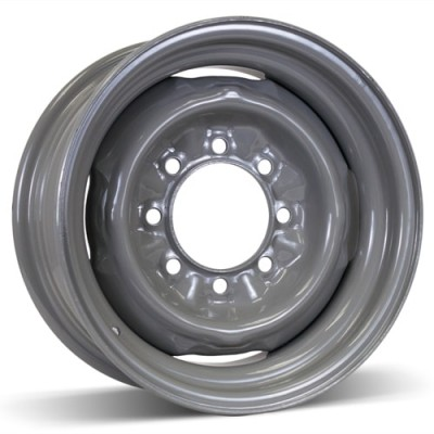 Roue RSSW Steel Wheel, gris (16X7, 8x165.1, 125, déport 6)