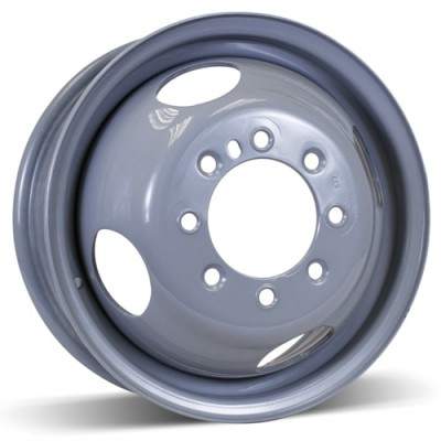 Roue RSSW Steel Wheel, gris (16X6, 8x165.1, 125, déport 136)