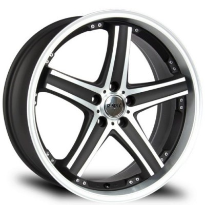 roue RTX Wheels Alpha, noir machine (20X10, 6x135, 87.1, déport -19)