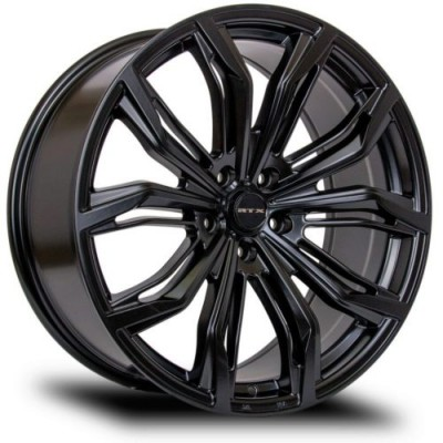 roue RTX Wheels Black Widow, noir satine (18X8, 5x115, 70.3, déport 42)