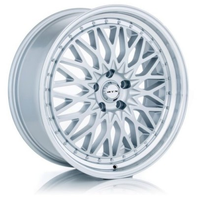 roue RTX Wheels Circuit, argent machine (19X8.5, 5x120, 72.6, déport 35)