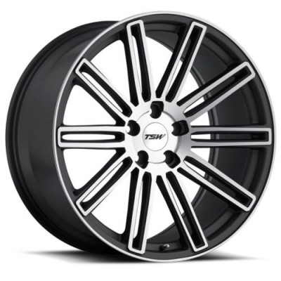 roue RTX Wheels CROWTHORNE, gris fonce machine (20X8.5, 5x108, 72.6, déport 40)