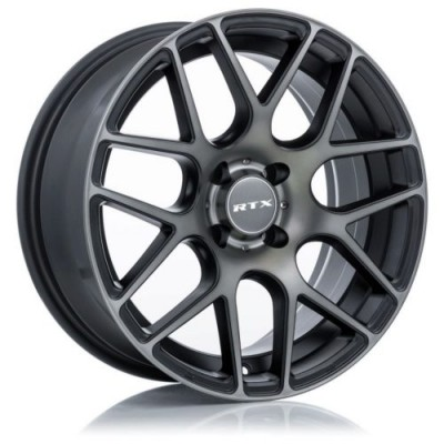roue RTX Wheels Envy, noir machine (20X8.5, 5x108, 63.4, déport 38)
