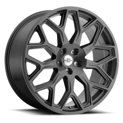 roue RTX Wheels KING, gris anthracite (20X9.5, 5x120, 72.6, déport 32)
