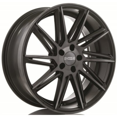 roue RTX Wheels Meridian, noir machine (19X9, , 54.1, déport 15)