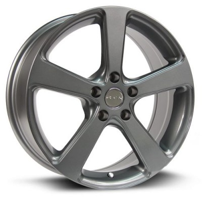 Roue RTX Wheels Multi, gris gunmetal (17X7, 5x114.3, 73.1, déport 72)