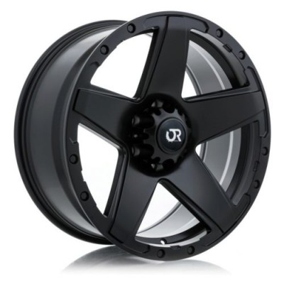 roue RTX Wheels Outlaw, noir satine (17X8, 6x135, 87.1, déport 10)