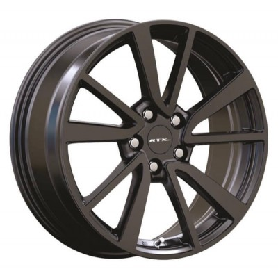 roue RTX Wheels Rogue, noir (18X8, 5x114.3, 66.1, déport 35)
