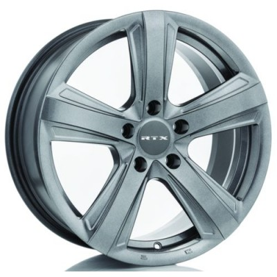 Roue RTX Wheels Scalene, gris gunmetal (17X7.5, 5x110, 65.1, déport 30)