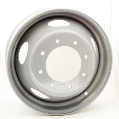 Roue RTX Wheels Steel Wheel, gris (19.5X6, 8x225, 170.1, déport 136)