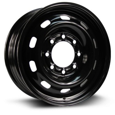 Roue RTX Wheels Steel Wheel, noir (17X7.5, 8x165.1, 121.1, déport 25)