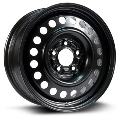Roue RTX Wheels Steel Wheel, noir (16X6.5, 5x115, 70.3, déport 45)