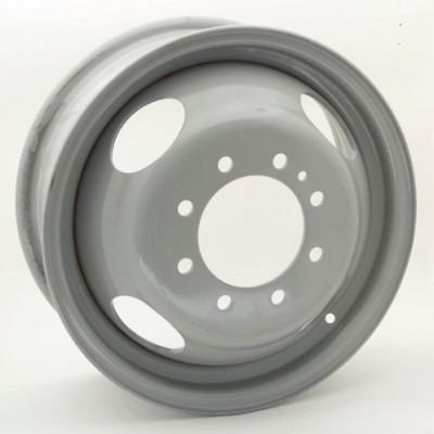 Roue RTX Wheels Steel Wheel, gris (16X6, 8x165.1, 124.9, déport 127)