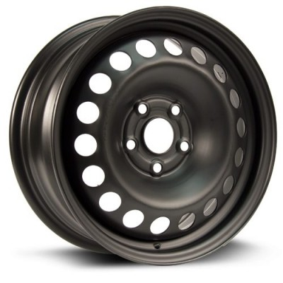 Roue RTX Wheels Steel Wheel, noir (15X6.5, 5x105, 56.6, déport 39)