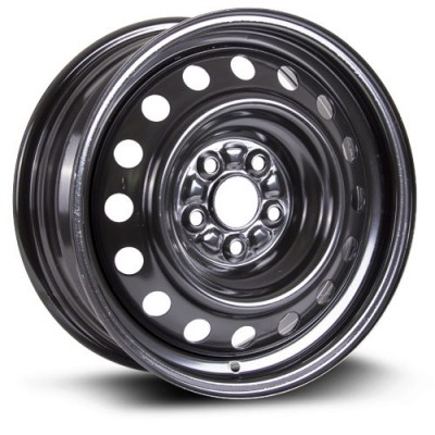 Roue RTX Wheels Steel Wheel, noir (15X6, 5x100, 54.1, déport 40)