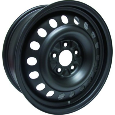 Roue RTX Wheels Steel Wheel, noir (17X6.5, 5x115, 70.3, déport 40)