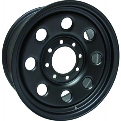 Roue RTX Wheels Steel Wheel, noir (18X6.5, 8x165.1, 121.3, déport 25)