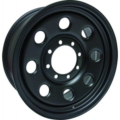 Roue RTX Wheels Steel Wheel, noir (18X8, 8x165.1, 130, déport 25)