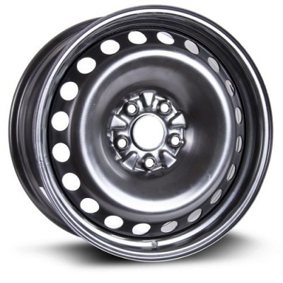 Roue RTX Wheels Steel Wheel, noir (18X8, 5x120, 64.1, déport 40)
