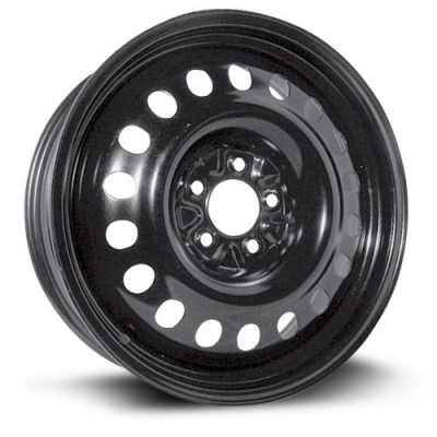 Roue RTX Wheels Steel Wheel, noir (18X7, 5x114.3, 71.5, déport 40)