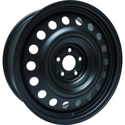 Roue RTX Wheels Steel Wheel, noir (19X7.5, 5x114.3, 67.1, déport 40)