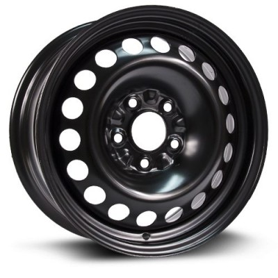 Roue RTX Wheels Steel Wheel, noir (15X6.5, 5x110, 65.1, déport 40)