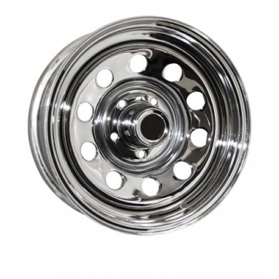 Roue RTX Wheels Trailer Wheel, chrome (14X6, 5x114.3, 84, déport 0)