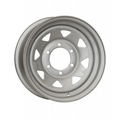 Roue RTX Wheels Trailer Wheel, gris (15X6, 6x139.7, 108, déport -3)