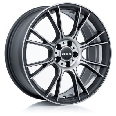Roue RTX Wheels Vapor, noir machine (16X7, 5x114.3, 73.1, déport 40)