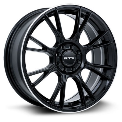 Roue RTX Wheels Vapor, noir machine (18X8, 5x114.3, 73.1, déport 40)