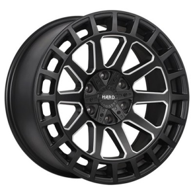 roue Ruffino Wheels Armour, noir satine (17X9.0, 5x114.3/127, 71.5, déport 0)