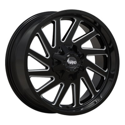 Roue Ruffino Wheels Smasher, noir machine (20X9, 5x139.7, 77.8, déport 12)