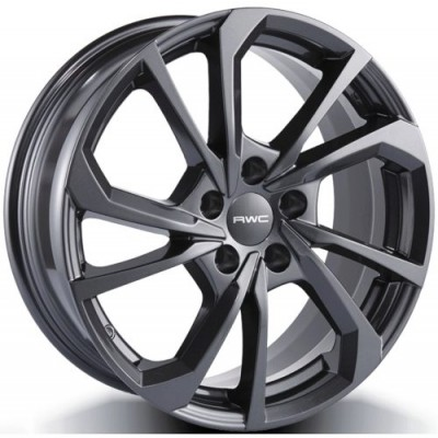 Roue RWC GM900, gris anthracite (17X7.5, 5x105, 56.6, déport 35)