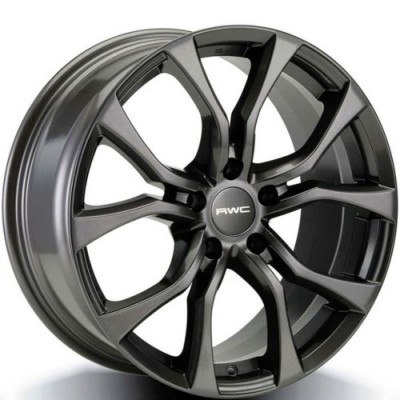 roue Rwc IF80, gris anthracite (17X7.5, 5x114.3, 66.1, déport 48)